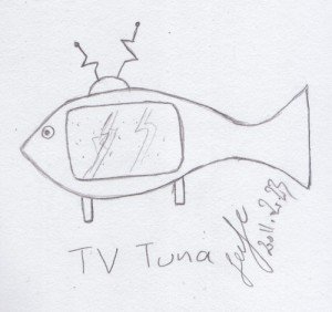 TV Tuna cartoon