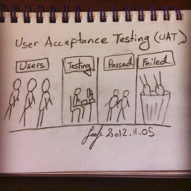 User Acceptance Testing (UAT) - Do your users pass or fail?