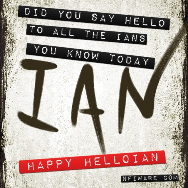Happy HelloIan
